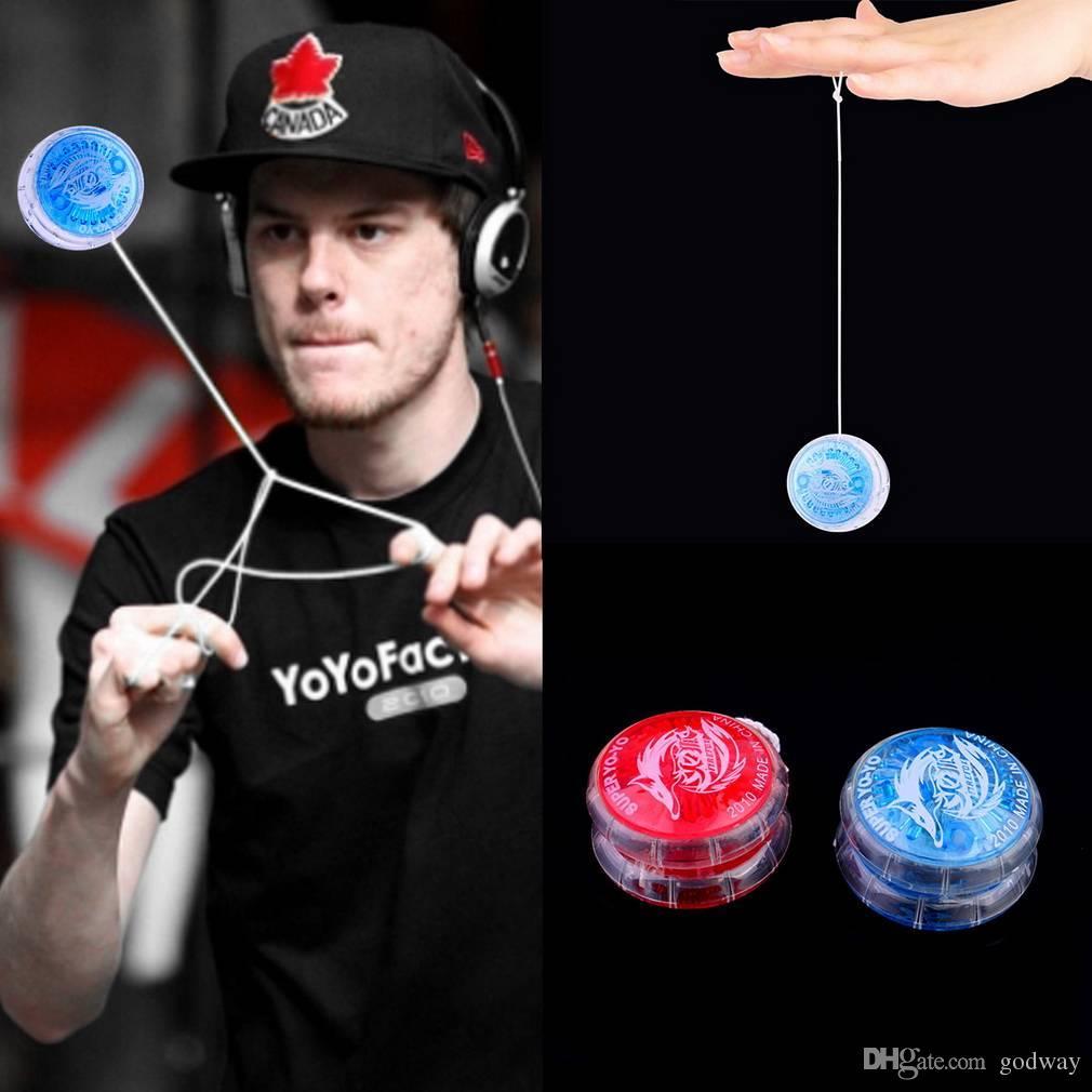 10pcs/lot New Plastic YOYO Party Yo-Yo Toys For Kids Children Boy Toys Gift Compact Portable