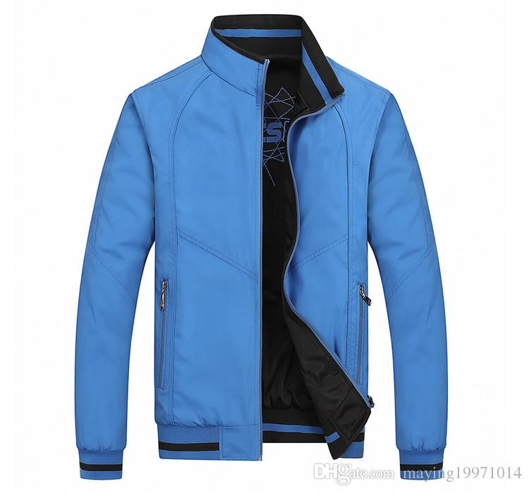 New 2016 spring and autumn period and the Double Jacket for BM fashion casual Coat Jackets men Sportswear Size:XL-5XL