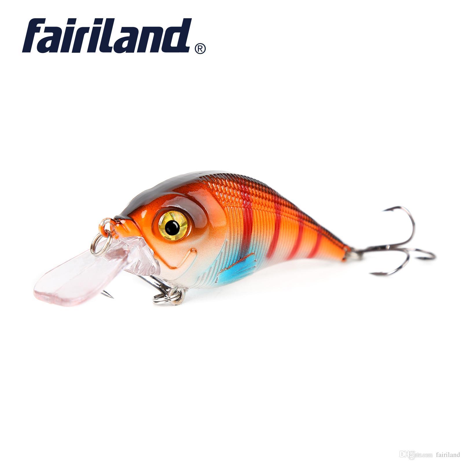 1pcs Lifelike Minnow 11g / 0.39oz 6cm / 2.4in rígido Iscas Minnow Fishing Lure 10 cores Float Crankbait Artificial Wobblers da pesca