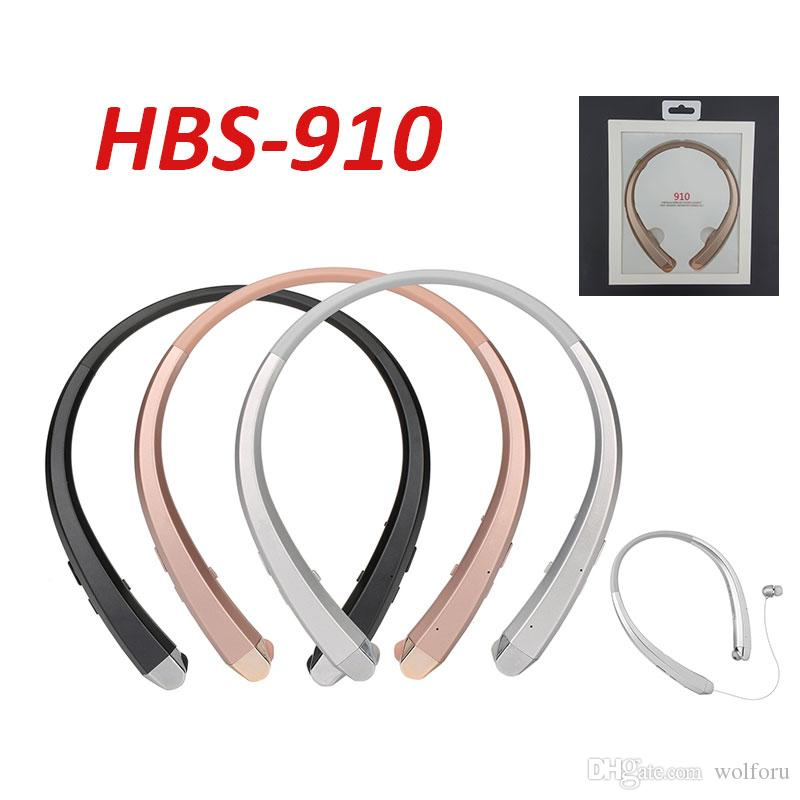 HBS910 Bluetooth Headphones Headset Earphone Sports High Quality 4.1 CSR Chip best quality With Package for iphone 7 plus s8 edge HBS910
