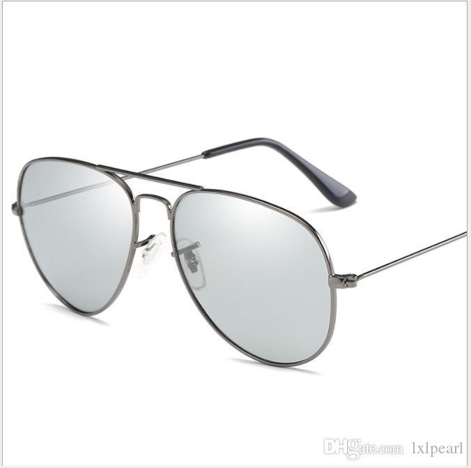 Поляризационные солнцезащитные очки вождения зеркало день и ночь двойного назначения анти-УФ жаба