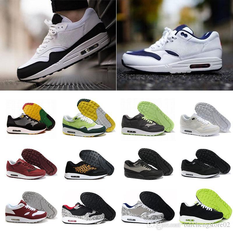 Compre Nike Air Max 87 Airmax Zapatos De Calidad Superior 87 Casual Moda 87  Zapatillas Deporte Mujer Femme Transpirable Hombres Mujeres Entrenadores ...