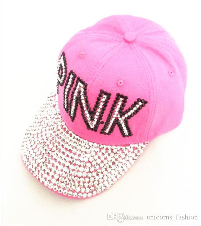 Compre Pink Damas Taladro Puntero Vaquero Diamante Masculino Y ...