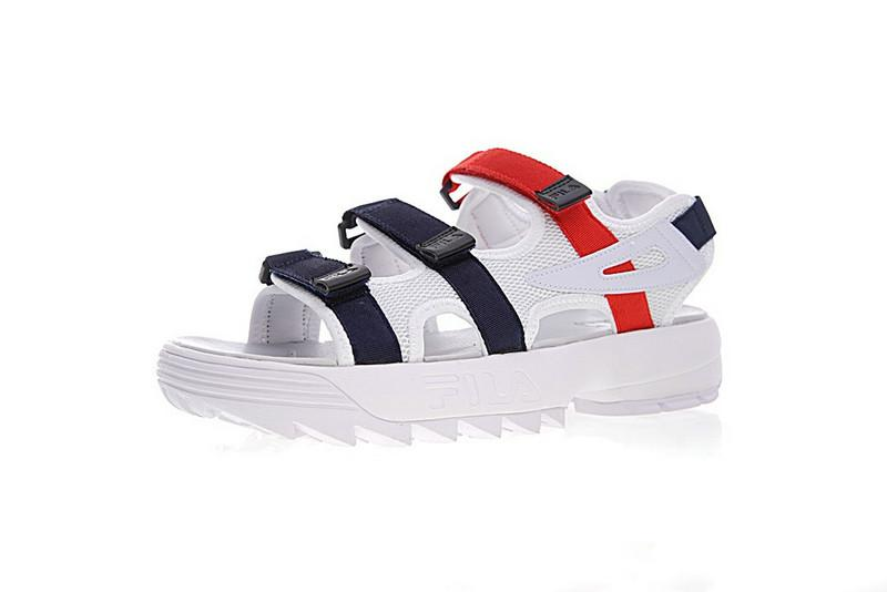 FILA Original Disruptor2 Outdoor Sandals Black White Summer New Market Trend Style Street Movements Discount Sneakers Size 35 44 Canada 2019 From