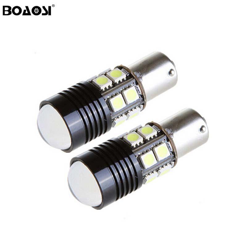 Led 1156 BA15S P21W 5050 Lumières Externes Voiture Camion Remorque RV Frein Inversé Lumières de Recul Tournage Ampoule de Lampe de Signal