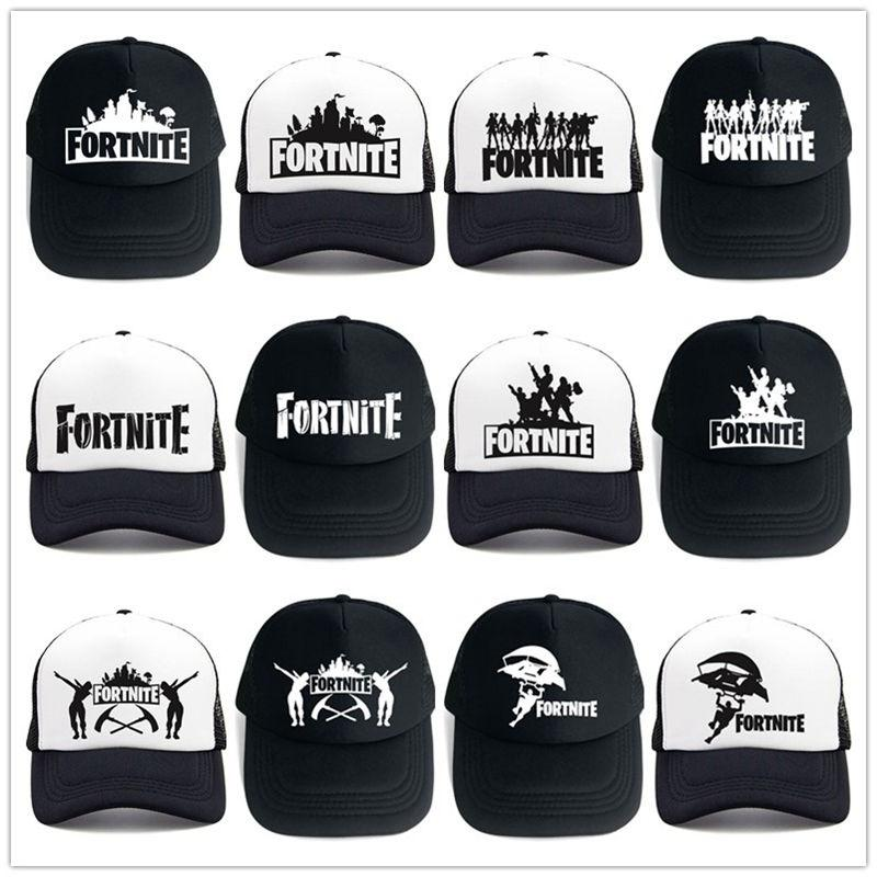 details for sneakers for whole family 2019 Fortnite Cap Man Baseball Cap Male Snapback Summer Breathable Hats  Bone Man Hip Hop Hat For Women Funny Quick Drying Caps From Sport_outdoors,  ...