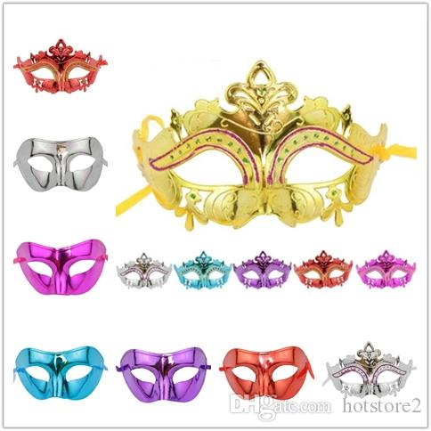 500pcs/ Children's Day Masquerade Mask Little Fairy Princess Painted Princess Half Face Party Mask Halloween Party Men's Party Mask Plastic