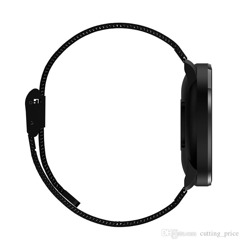 Medical relógio inteligente Blood Pressure Oxygen Sangue Heart Rate Monitor inteligente Pulseira de Fitness Rastreador pedômetro relógio de pulso para iOS Assista Android