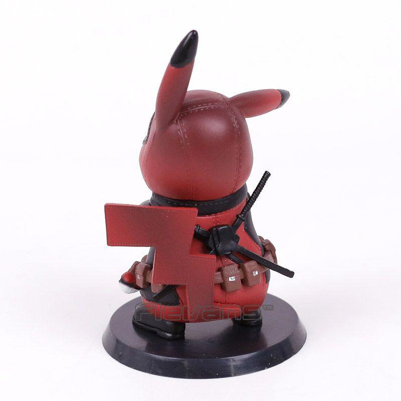 Deadpool Captain America Mini PVC Figure Collectible Model Toy 10cm