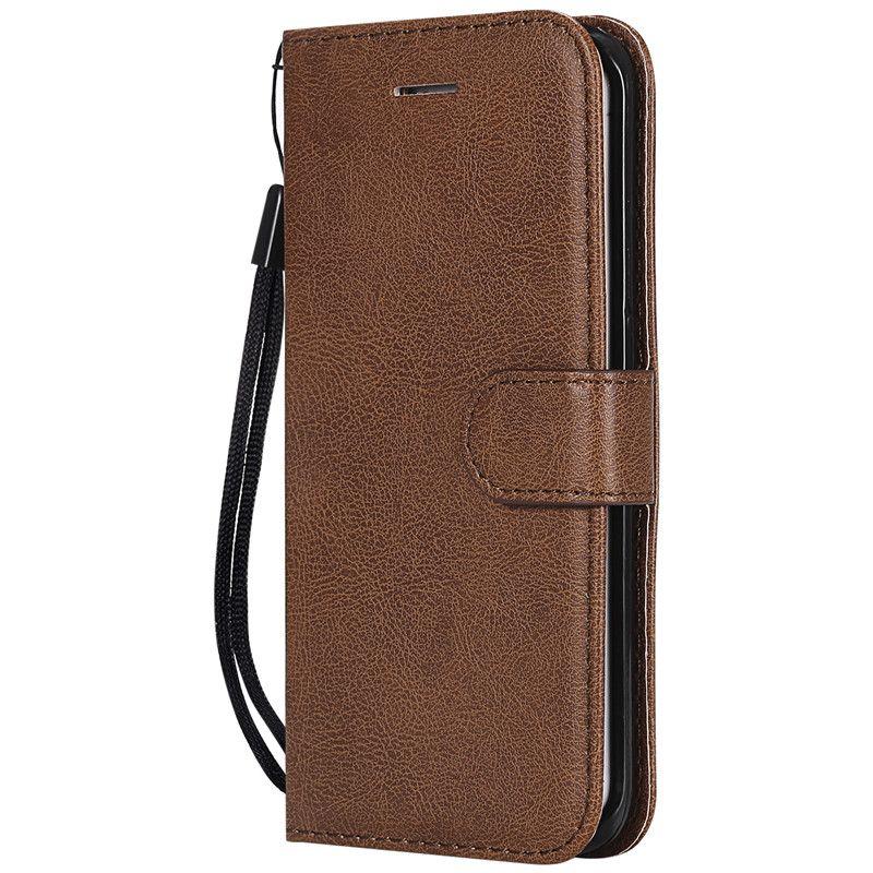 Funda con billetera para Samsung Galaxy S6 Edge Funda con tapa trasera Color puro Cuero de PU Bolsas para teléfonos móviles Coque Fundas para Galaxy S6 Edge