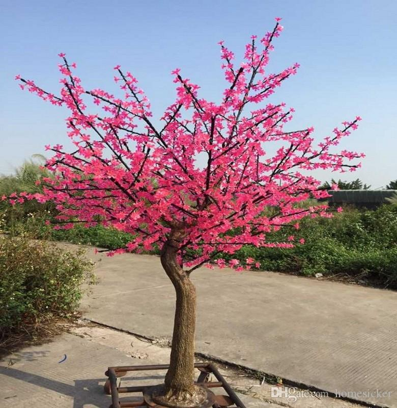 2020 Led Cherry Blossom Tree Lamp 1 5 2 5 Meters High Simulation