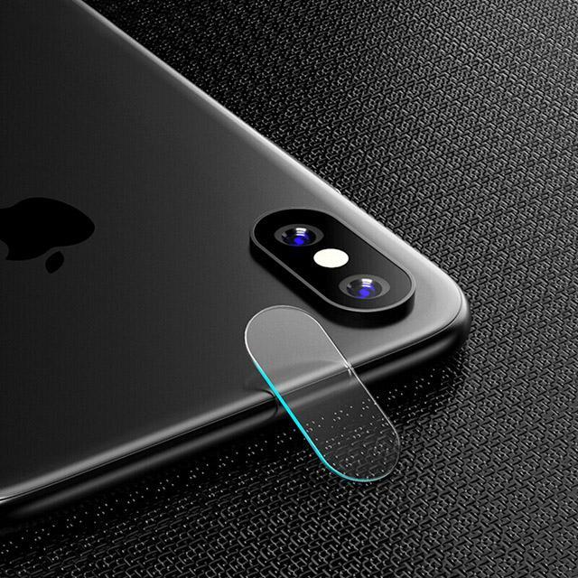 Pour iPhone X 8 7 6 6S Plus Accessoire Arrière de la lentille de la caméra Protecteur d'écran Full Cover Film de verre trempé pour iPhone 8 7 6 X