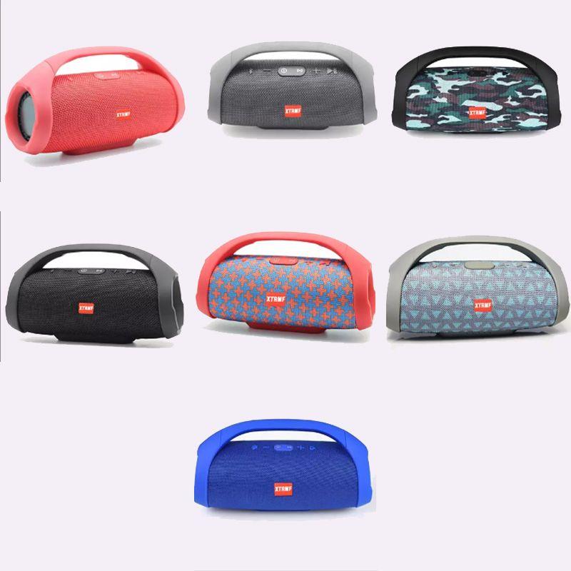 Hot Mini Boom Box Outdoor HIFI Bass Column Speaker Wireless Bluetooth Speaker Boombox Bluetooth Wireless Speaker Stereo Audio Top Quality