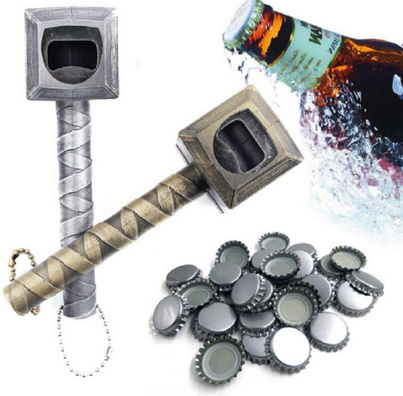 Beer Bottle Openers Hammer of Thor Shaped Creative Bottle Opener Dinner Party Bar Tools EEA162 20pcs