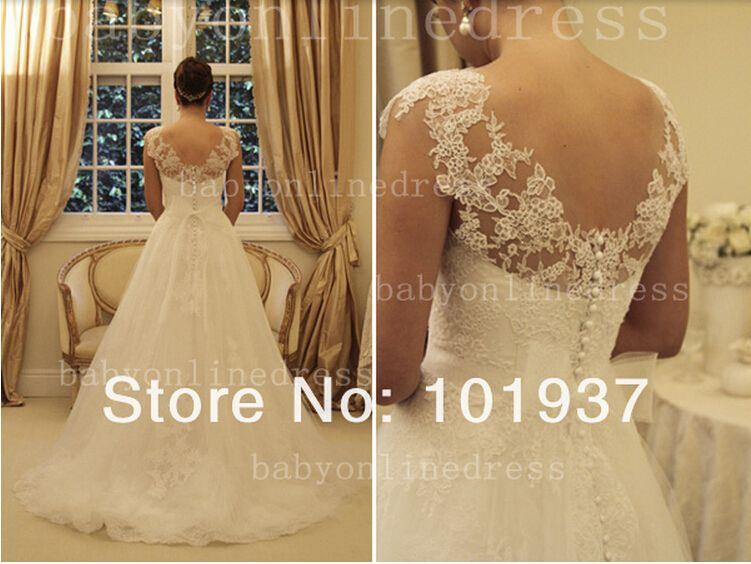 free shipping elie saab 2018 new design elastic dress white/ivory custom size/color beading bridal gowns lace wedding dresses