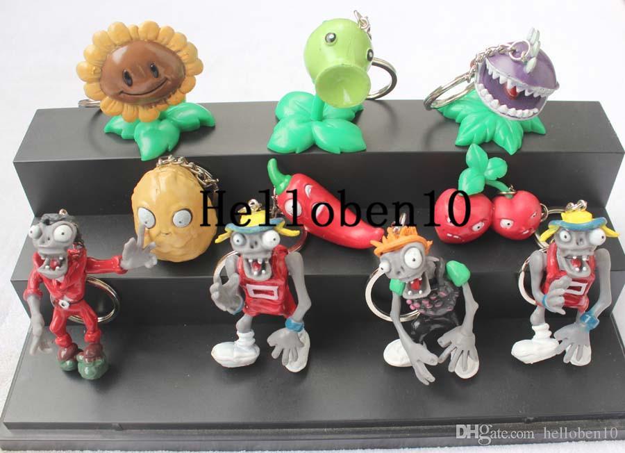 En popüler zombi oyunu DIY / GK bebeği tuşlara asılabilir. Toplam 10 farklı şekil seçilebilir
