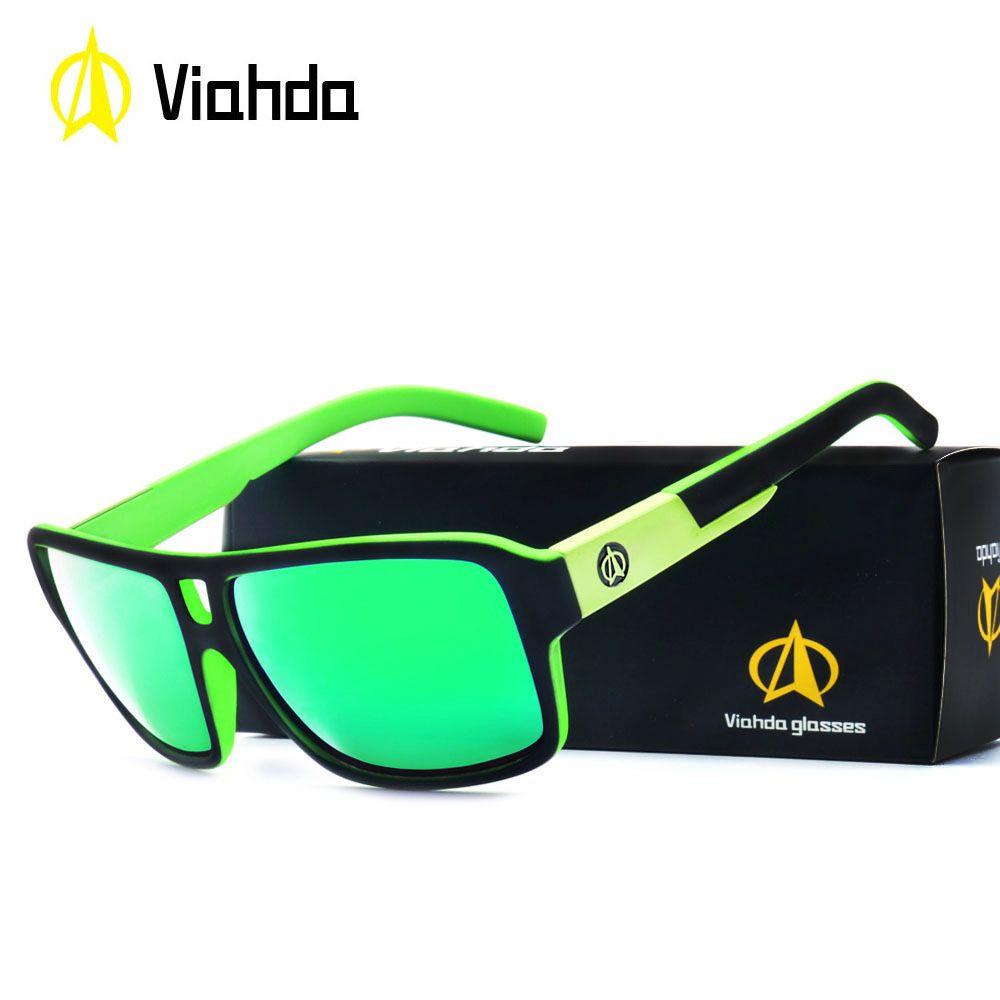 Бренд Viahda 2018 новые солнцезащитные очки мужчины очки мужчины прохладный путешествия солнцезащитные очки высокое качество очки gafas солнечные очки UV400