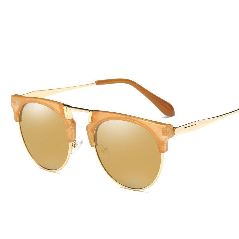 Солнцезащитные очки мужчины новая мода глаза защиты солнцезащитные очки с аксессуарами унисекс вождения очки oculos de sol