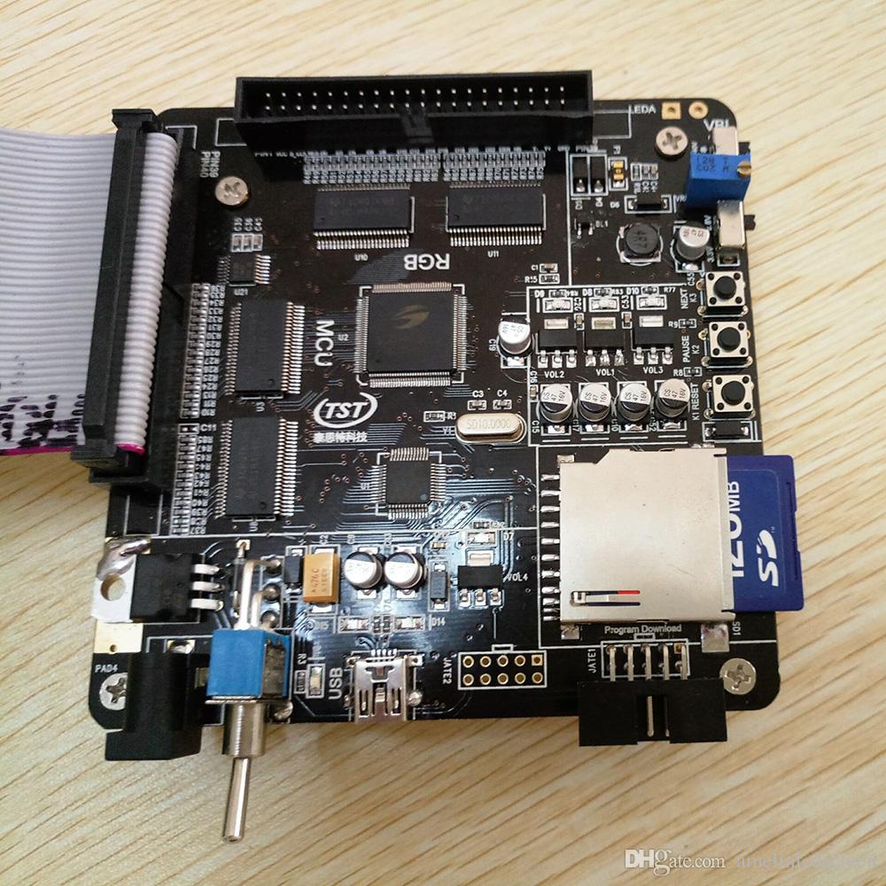 La scheda demo LCM / MCU + RGB + può estendere la scheda di test MIPI per lo schermo OLED da 5,5 pollici