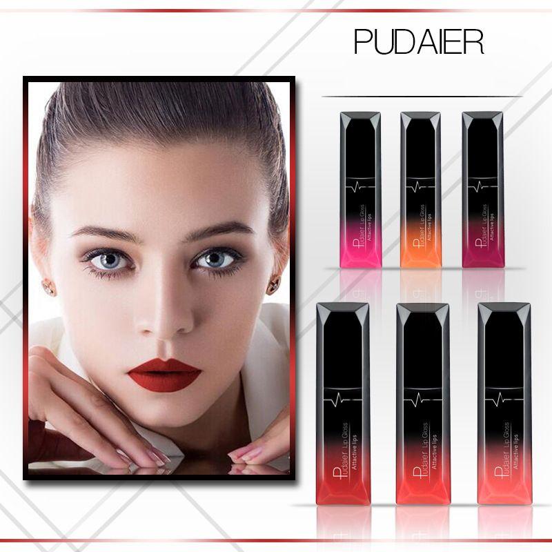 Pudaier 21 Colors Metallic nude Liquid Lip Gloss Waterproof Matte Lip Gold 24 Hours Long Lasting Velvet Lipstick Makeup Cosmetics