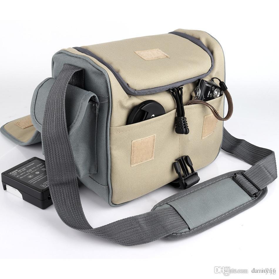 DSLR Camera Bag Case Sac à bandoulière pour Canon Nikon Sony alpha Fujifilm Panasonic Photo Foto Boîtier de l'objectif Étanche Sac à dos