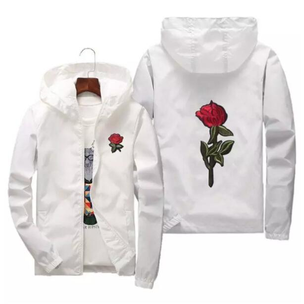 Rose Jacket Windbreaker