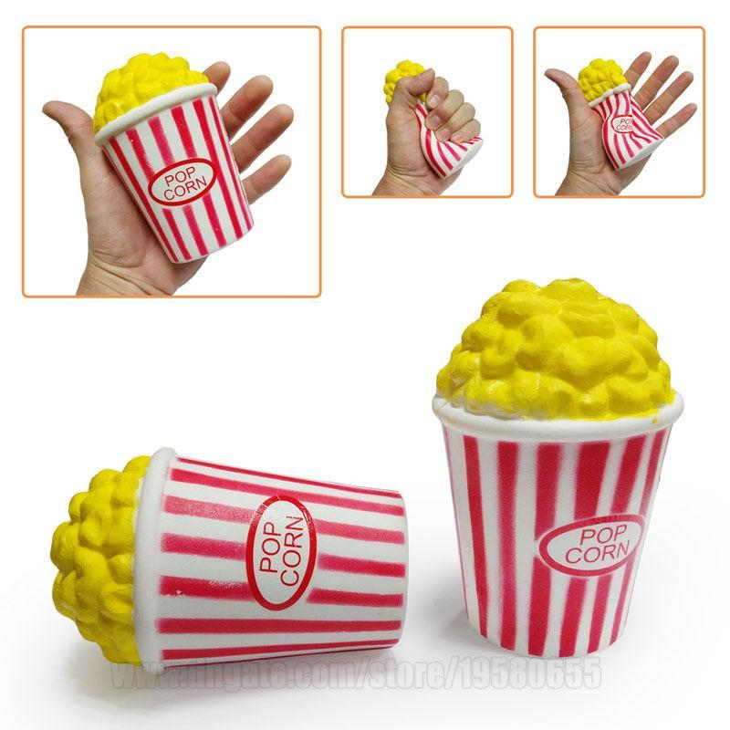 Popcorn Slow Rising Puffed Rice Squishies Toy