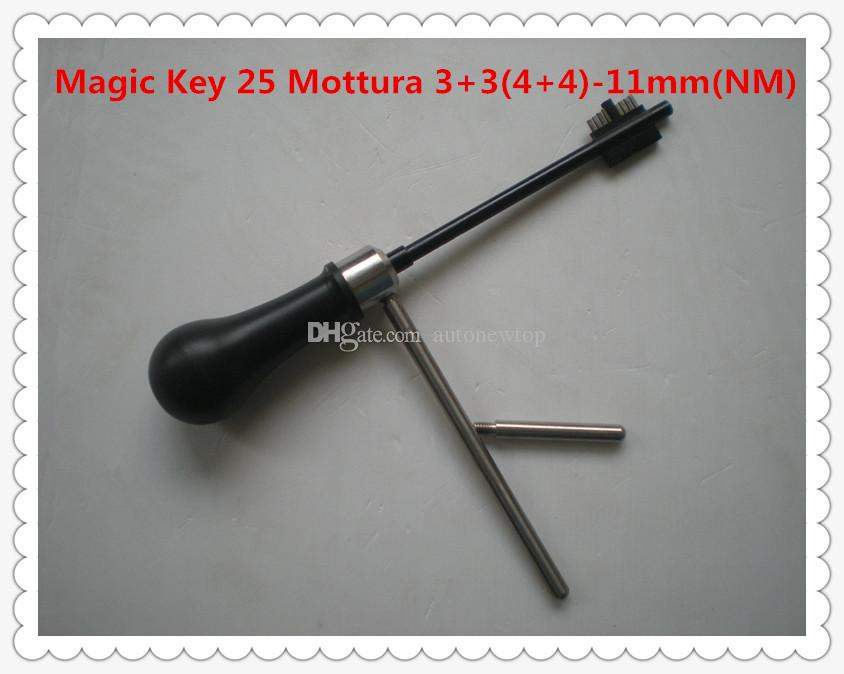 2019 free shipping new arrival high quality MAGIC KEY 25 for Mottura 3+3(4+4)-11mm(NM) decoder and pick tool locksmith tools lock open