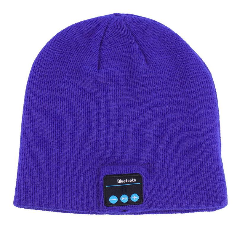 Headgear Wireless Bluetooth headphone TM5 hat Call music stereo earphone knit hat headset