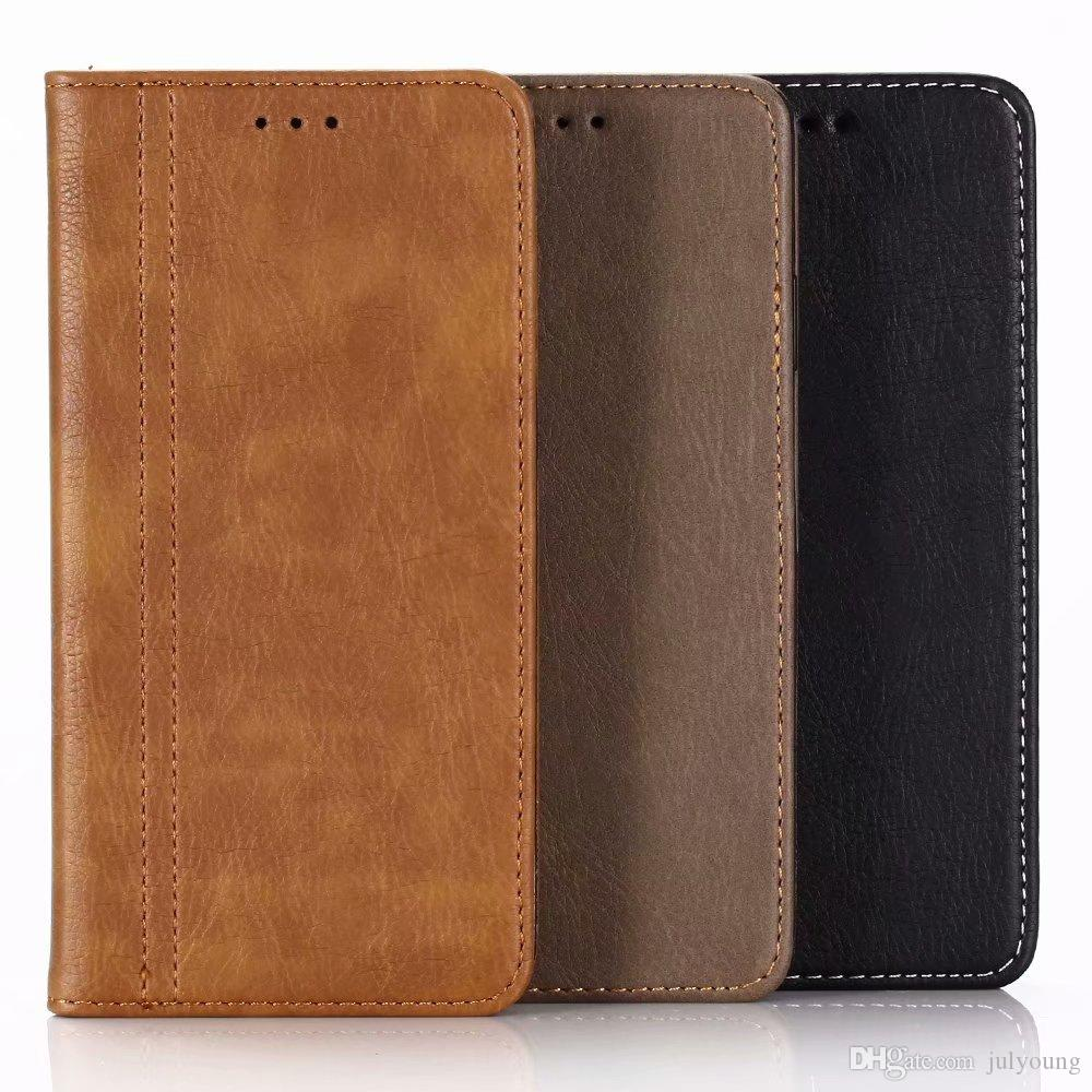 Suck Wallet Leather For Iphone XR 6.1 XS MAX 6.5 Frame Photo Card Slot Luxury Pouches Flip Cover Bling Purse Magnetic Closure Pouch Skin