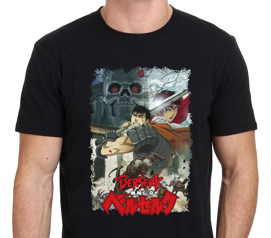 Berserk gatsu Anime Manga Cartoon T Shirt