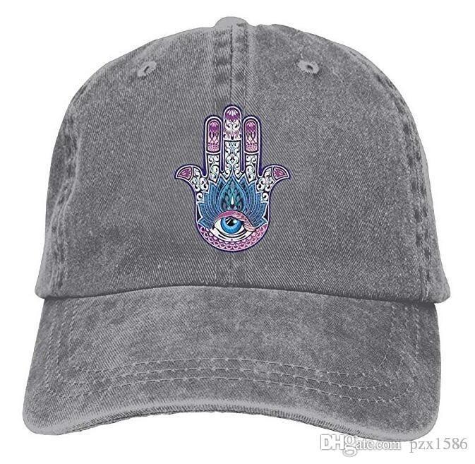 Buddha Hamsa Baseball Caps Kawaii Available Visor Hats For Teen Girls
