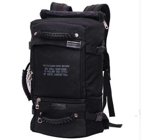 Ноутбук рюкзак 17 18 дюймов ноутбук сумка 17.3 15.6 14 дюймов открытый большой путешествия рюкзак плеча мужчины сумка емкость многоцелевой