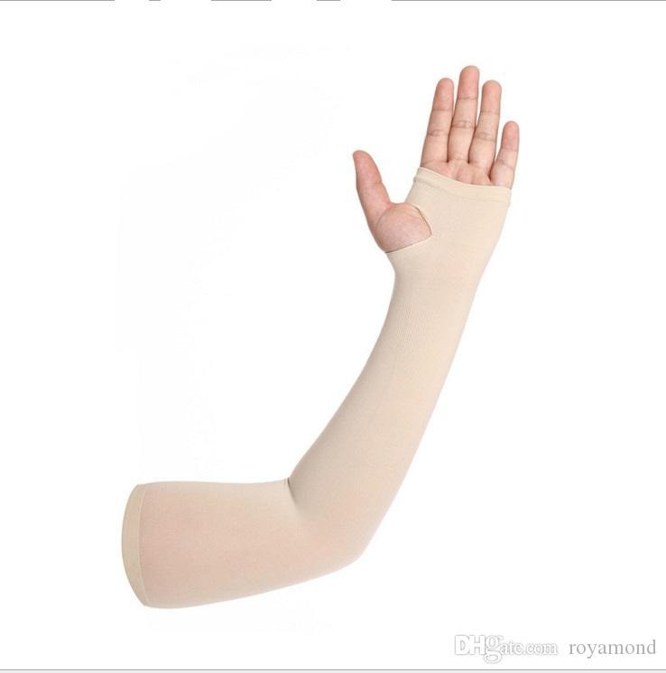 Mangas protectoras de seda de hielo guantes para montar al aire libre guantes de conducción manga del brazo en 9038 - 1