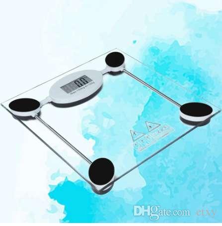 HOT1pc Pesando Escala Antiderrapante Precisão Digital Balança À Prova D 'Água Escala de Peso Banheiro para Mercearia Escritório Casa