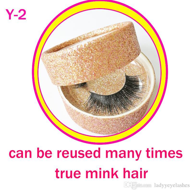 Extension beauté maquillage vison cils maquillage réel vison naturel épais faux faux cils yeux cils maquillage beauté outils gr156