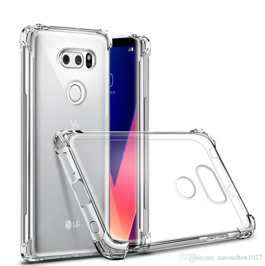 Кристально чистый мягкий чехол противоударный для LG Г6 Г7 ThinQ стило 3 4 х мощность 2 3 V20 диск V30 в К3 К4 К8 К10 2017 2018 Приложение 3 5 5Т 6Phone случаях