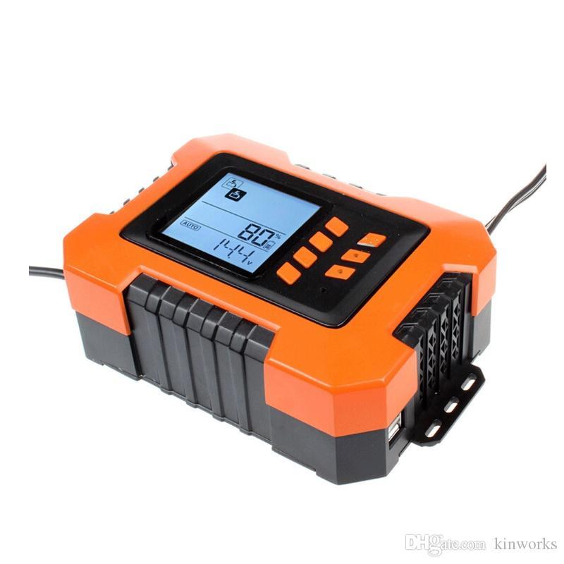 납산 배터리 용 12V 스마트 충전기