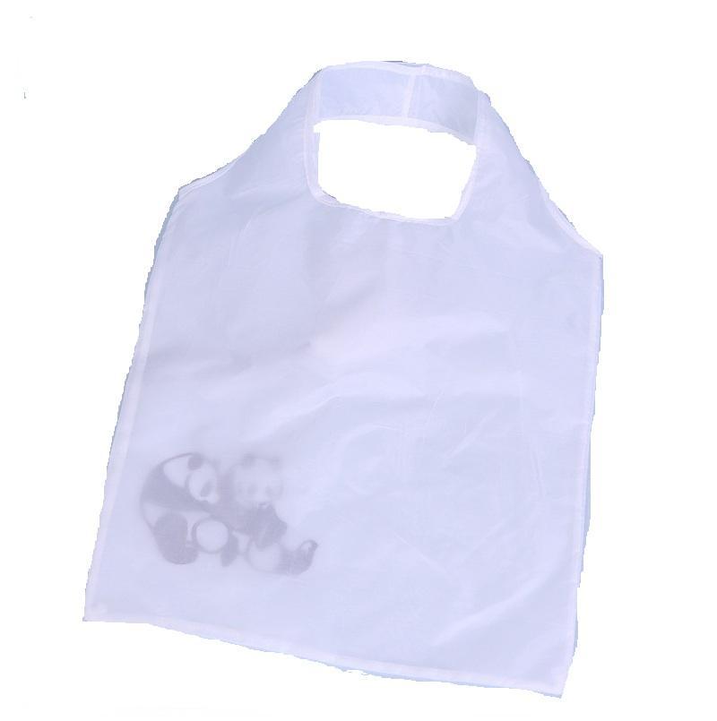 Borsa di nylon pieghevole 10pcs / lot della drogheria pieghevole riutilizzabile della drogheria della borsa calda di immagazzinaggio del fumetto caldo della borsa ing