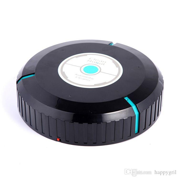 Robot de limpieza automático Microfibra Barrido inteligente Mopa robótica Limpiador de polvo Esquinas del piso Grietas Limpieza Hogar Barredora inteligente