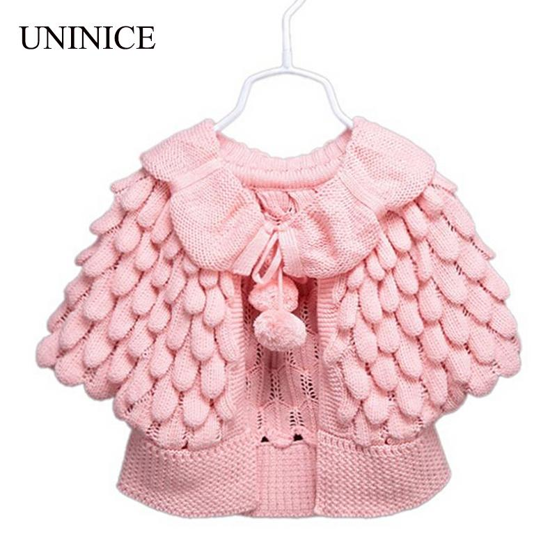 Baby Girl Clothes 2017 New Girl Cardigan Children Clothes Cute Batwing  Sleeve Pineapple Knitting Wool Sweater Coat Girls Sweater Sweater Design  For