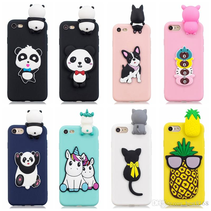 coque iphone xr silicone animaux 3d