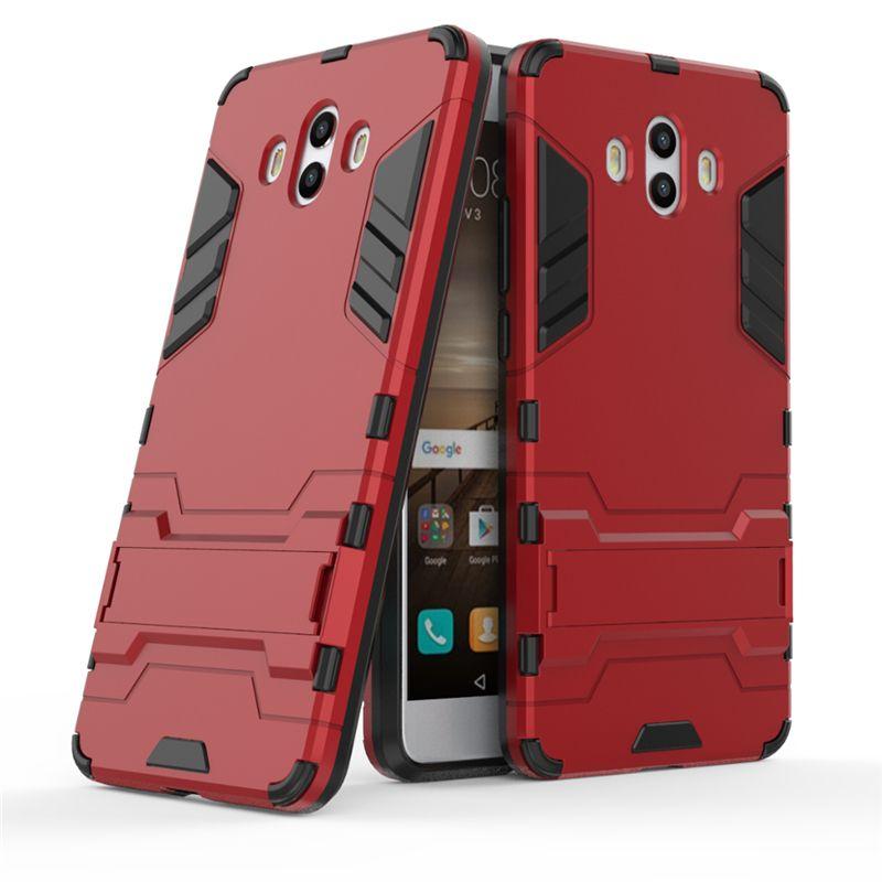 Für Huawei Honor 8x Max Genießen Sie Max V10 View 10 Hülle Handy Cover Slim Armor Case Hybrid Combo Luxus 2 in 1 Anti Shock
