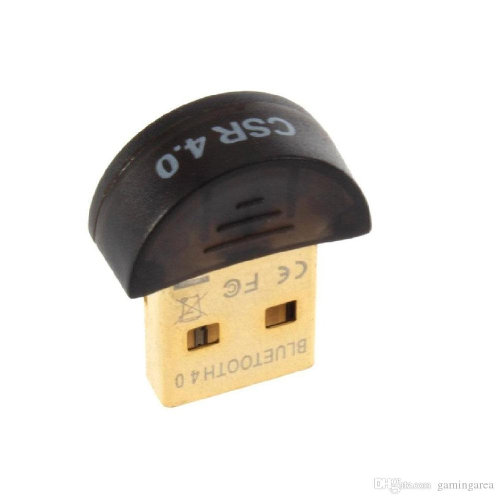 Universal Mini Bluetooth Slim 4.0 Dongle Adaptador USB Dongle Conversor Sem Fio para PC Mac Laptop Plug and Play de Alta Qualidade RÁPIDO NAVIO