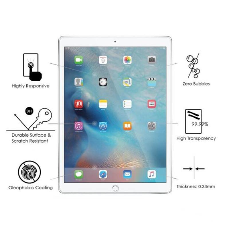 iPad 용 Ipad 2/3/4 미니 4 공기 9.7 새로운 iPad 프로 10.5 2017 9H 0.3mm 태블릿 강화 필름에 대한 강화 유리 스크린 수호자