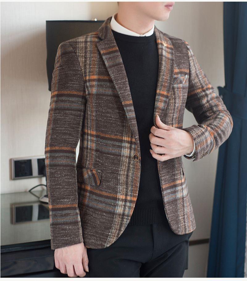 Mens Designer Blazers Jacket Suit (9)