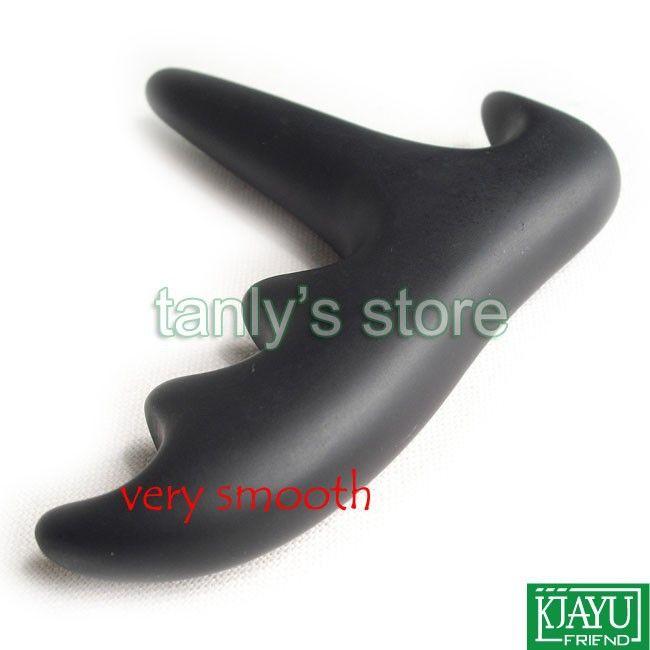 Хорошее качество! Оптовая розничная традиционный Бянь игла терапия черный Бянь камень массаж конус