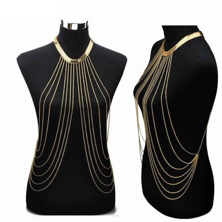 Sexy Chain ожерелье Женщины ОжерельяПодвески Кисточкой Сплава Панк Длинное Ожерелье 2017 Новый Дизайнер Женская Мода ювелирные изделия