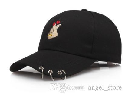 Casquette de baseball coréenne doigt pour hommes femmes dames pare-soleil sport de plein air casquette pour hommes Snapback chapeaux papa chapeau