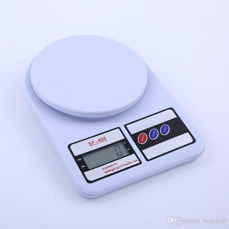 2019 Electronic Kitchen Scale SF400 Kitchen Scales Digital Balance Food  Scale Baking Balance High Precision Kitchen Electronic Scales 5kg 1g From  ...